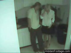 Office Blowjob Caught On Security Cam