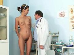 Angela goes to her gyno vagina exam and loves it