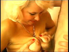 Sexy mature teacher and a young guy who wants pussy