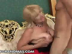 Eldery business lady naked