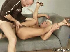 Hot granny getting fucked pretty hard film