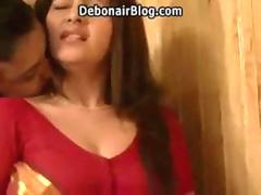Hot and exotic Indian Aunty love making with a guy
