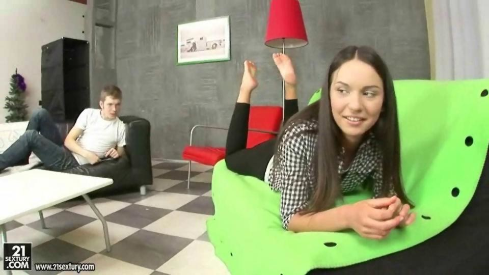 Pretty teen in stockings Nataly Gold gets her love holes drilled hardcore № 552396 загрузить