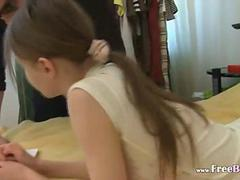 Strong man and 18yo horny princess film