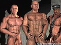 Muscled Gay Boys 3D Fantasy