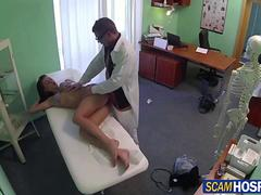 Super sexy Victoria fucked from behind by her physician
