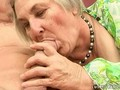 Very old busty granny gets fucked