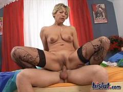 Old Mili needs a stiff young dick