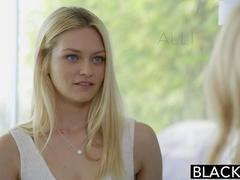 BLACKED Blonde BFFs Cadence Lux and Alli Rae Share a huge BBC