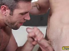 Boyfriend watches his lover get fucked by a stud