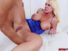Alysha and Shane in extreme penetration in the ass momlickspussy.com