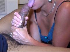 Slutty MILF cheating on her hubby with a stud