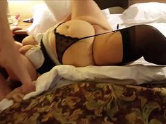Adventurous BBW Wife Shared With 2 Young Men