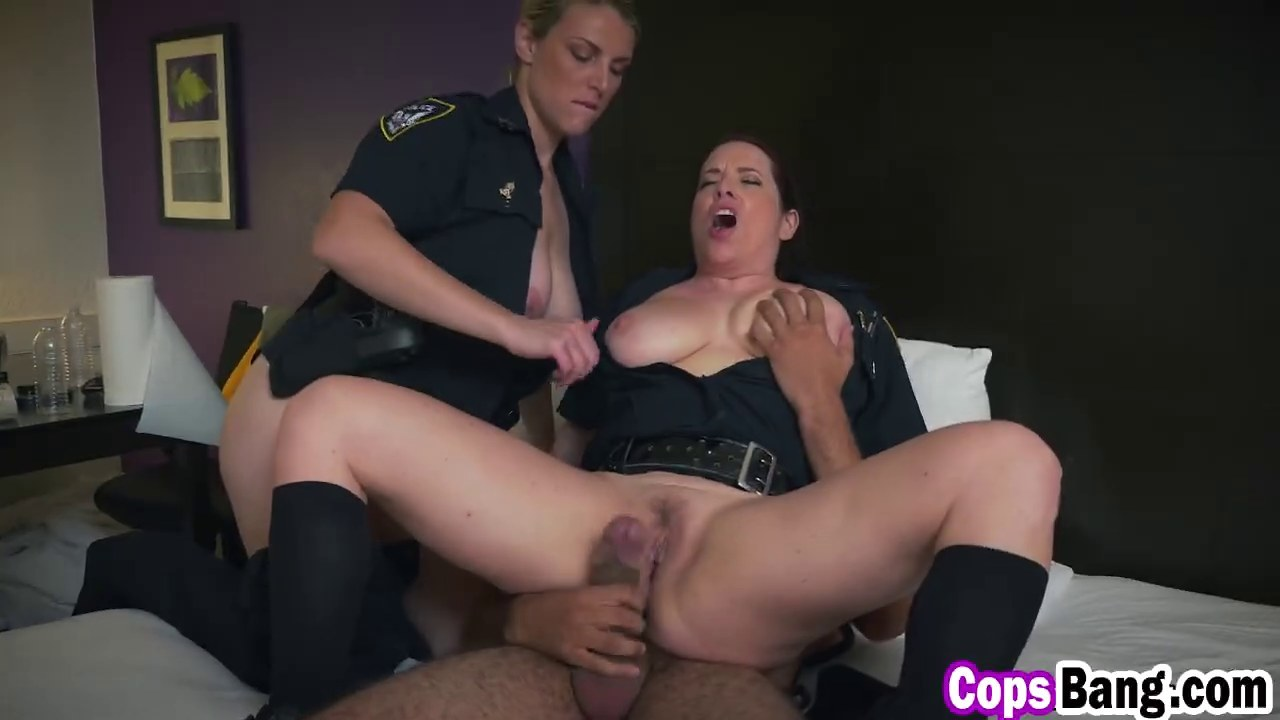 Female cop punished xxx suspect was seen on 7