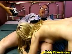 Vintage debutante buttfucked and facialized