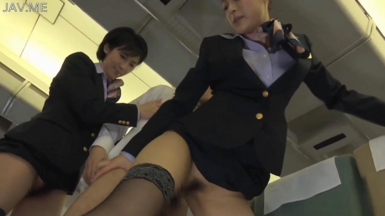 Air plane blowjob