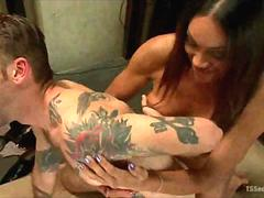 Tranny Dominates and Ravages a Man!
