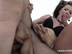 Timea Bella- Double Anal And Cum Inside Pussy