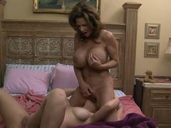 Squirting huge titted lesbians
