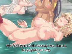 Anime Milf Deepthroats Big Cock Blowjob