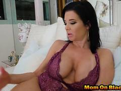 Home alone mom Veronica Avluv gets pussy abused by massive black dicks