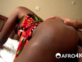 Short haired African slut with big ass pounded hard by white cock
