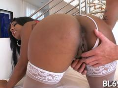 multiples of orgasms for ebony clip film 1