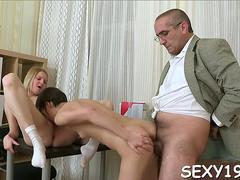 old tutor gets cock loving action video clip 1