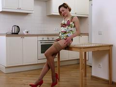 Nasty housewife waiting for a hard dick