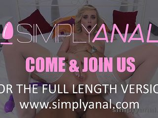 simplyanal - reed of hot blonde vinna gets a good ass fuck in this anal porn