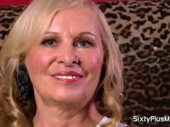 Blonde's first sixty plus experience