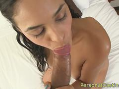 Casting beauty doggystyled in leaked sextape