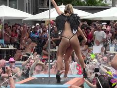 Wet and Naked Wet T Pool Party Fantasy Fest Rnd2