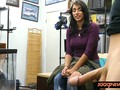 Busty amateur woman nailed by pawn dude in his office