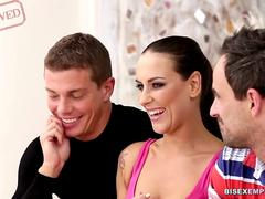 BiSexempire - Naughty Swinger Couple in Threesome
