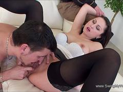 European MILF Becomes A Real Swinger Slut