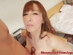 Busty nippon newhalf titfucking dick