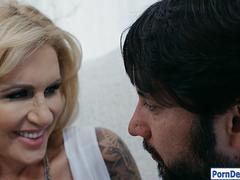 Curvy MILF Ryan Conner gets screwed hard in many poses