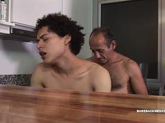 Daddy Ernesto Barebacks Twink Jacob