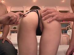 Rare Arisa Kuroki amazing hardcore sex play - More at Japanesemamas.com