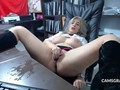 Hot Milf Camslut Fucks Herself To A Squirt
