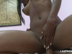 Interracial banging with a delicious black beauty