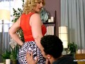 Eating and Shafting a Horny Blonde