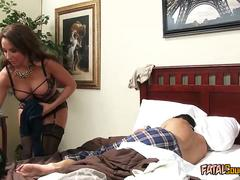 Milf in Lingerie Gets Drilled