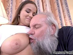 Teenager nailed by gramps