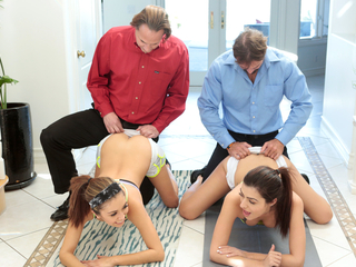 DaughterSwap - Hot Daughters Get Stretched and Fucked