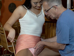 daddy4k. can you trust your girlfriend leaving her alone with your father? video