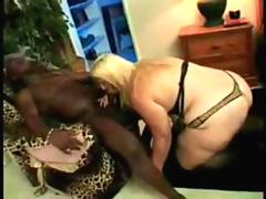 Mature hot blonde only likes big black cocks