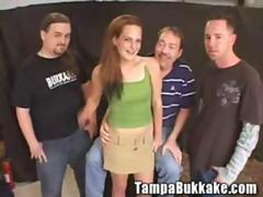 Spring Break Girl Tastes Tampa Bukkake