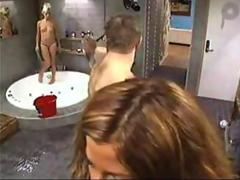 Girls showering nude on Big Brother
